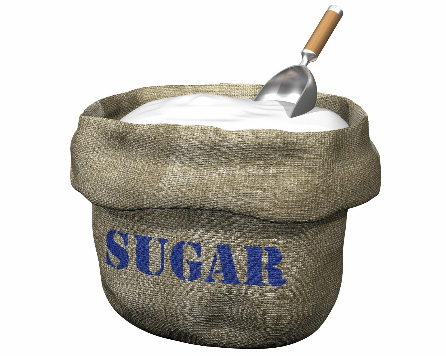 White Sugar Bag
